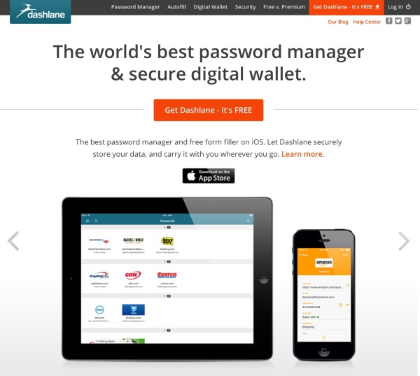 Dashlane for ios