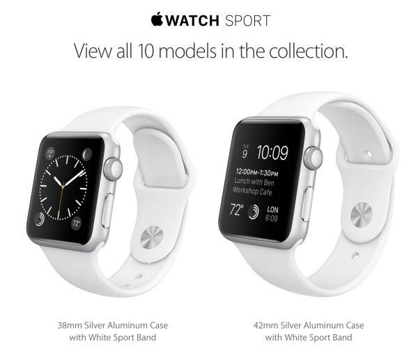 Apple's Watch Sport Collection