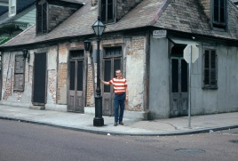 Dad in New Orleans during one of our most memorable family vacations