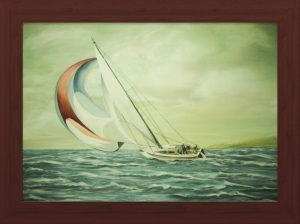 Small Craft Advisories Water Color