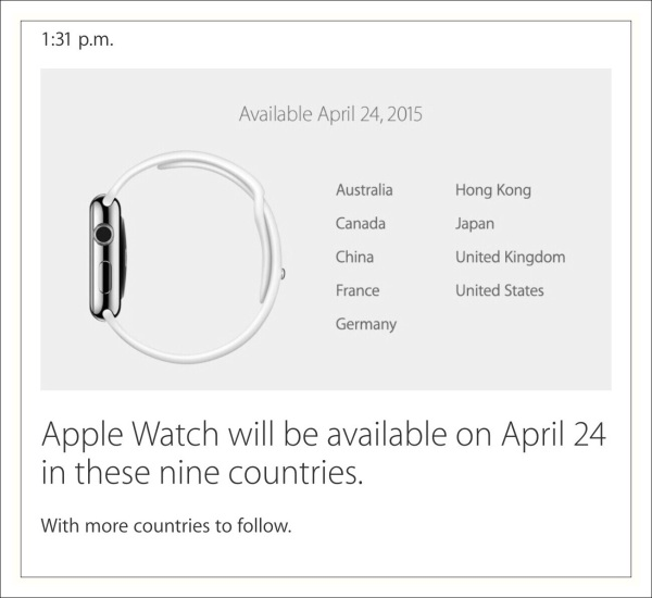 Watch 1st Countries