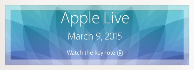 Apple Live March 9th