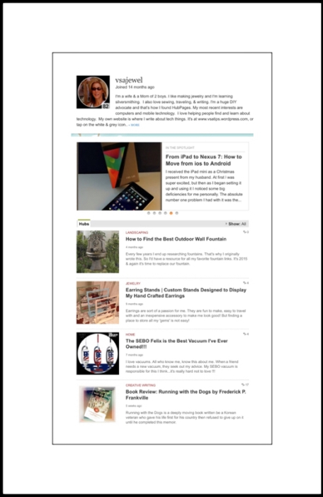 My HubPages Articles