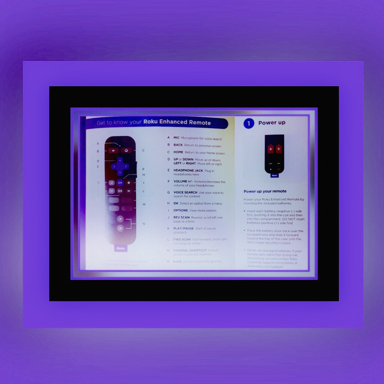 how to pair a second roku remote use voice search vsatips. Black Bedroom Furniture Sets. Home Design Ideas