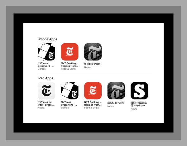 New York Times Apps