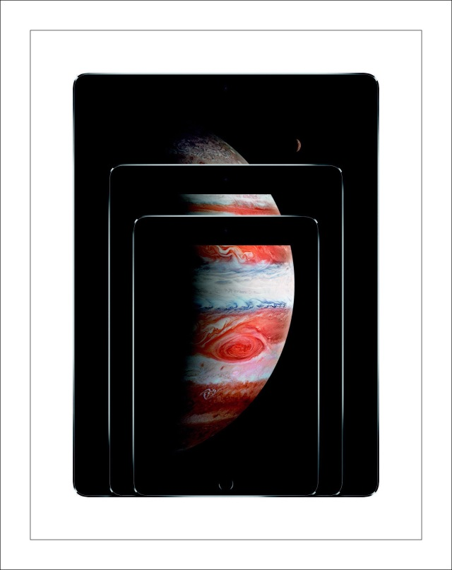 Apple's Publicity Photo of iPad Pro