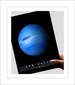Pretty blue planet on Retina display