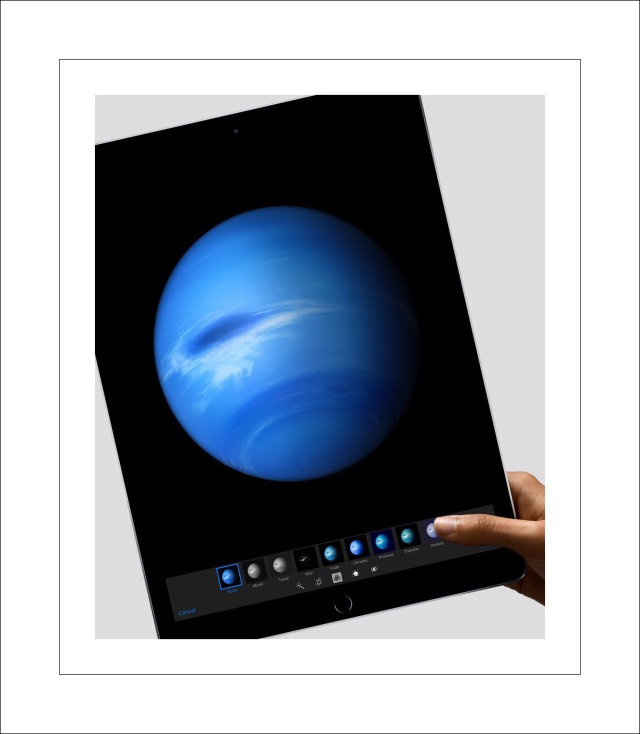 Pretty blue planet on Retina display