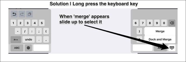 Keyboard key's extra options