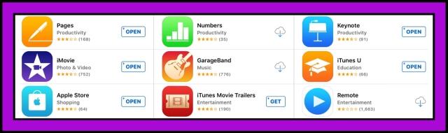 Apple's iLife apps