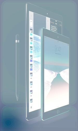 "iPad Pro's 12.9"" & 9.7"""