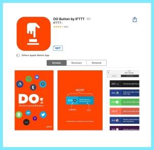 Do Button ios app by IFTTT