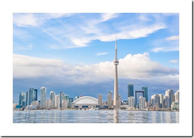 Toronto's Skyline 466 KB