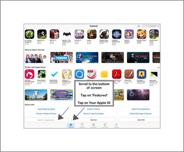App store Method 2