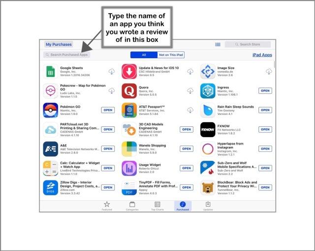 App Store Method 1