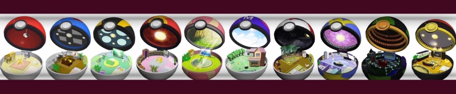 Pokemon's Homes