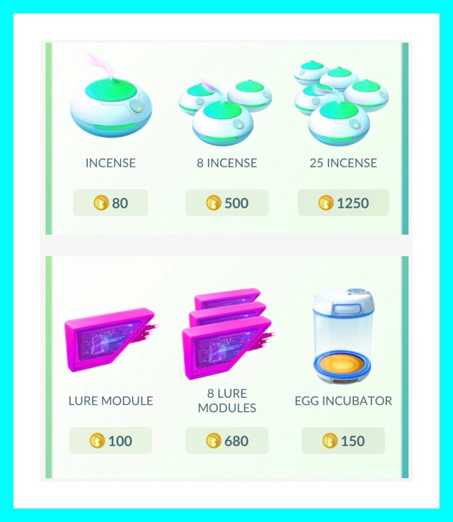 Cost of incense, lures and incubators