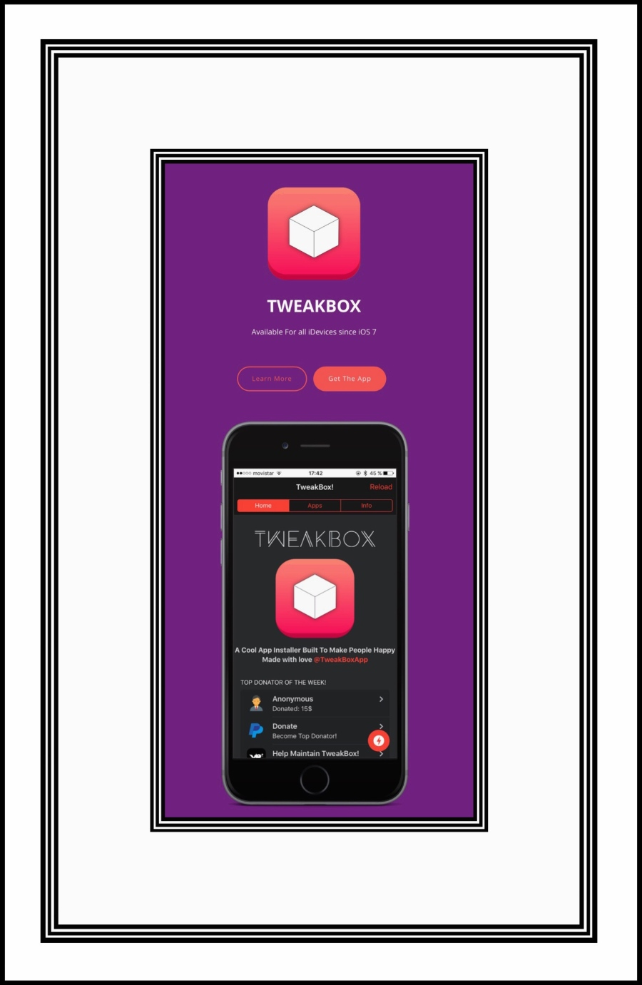 Tweakbox site and app for side-loading apps
