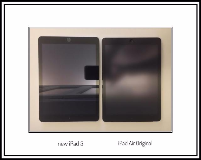The New iPad 5 Compared to My Original iPad Air