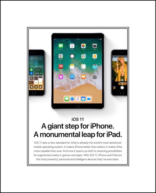Apple's ios 11 Is Coming Soon