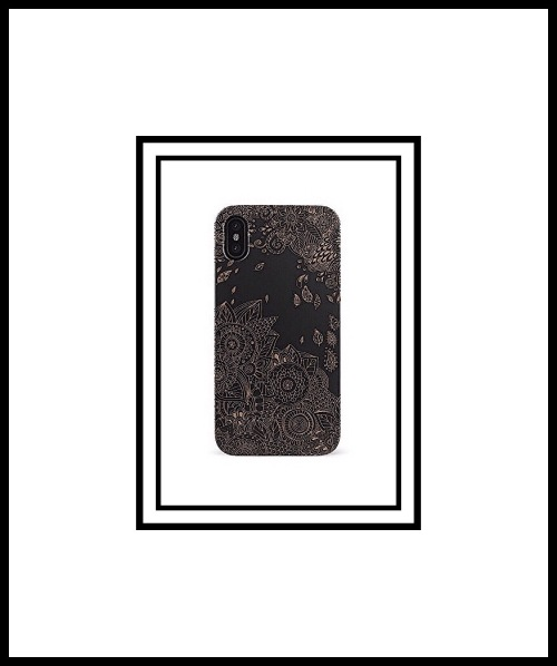 Case Goods Black Flowers