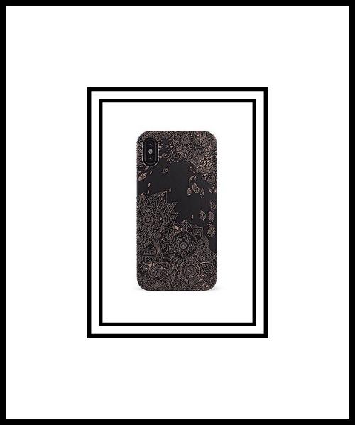 Case Goods Black Flowers