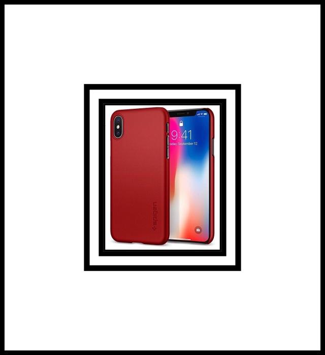Spigen Thin Fit iPhone X Case QNMP Compaitble