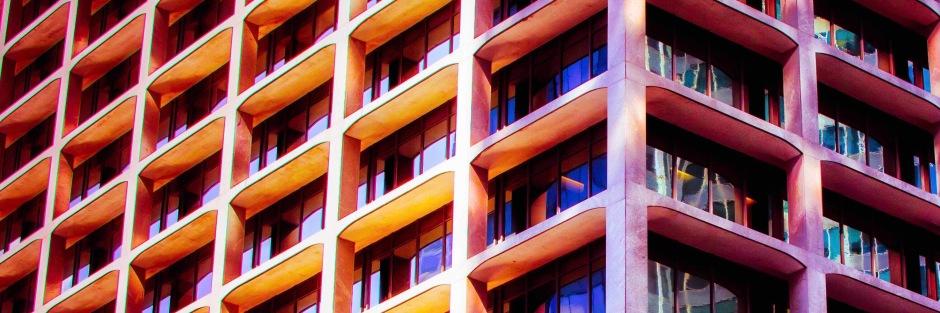 Stylized buildingD