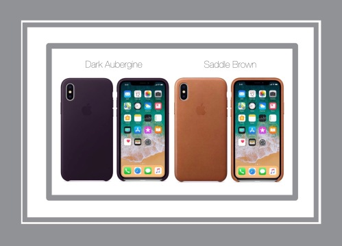 Apple's iPhone X Leather Case