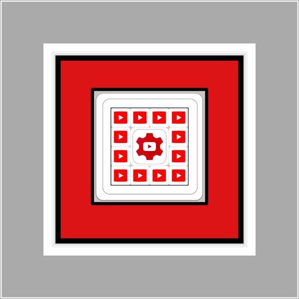 YouTube & Creator Studio icons