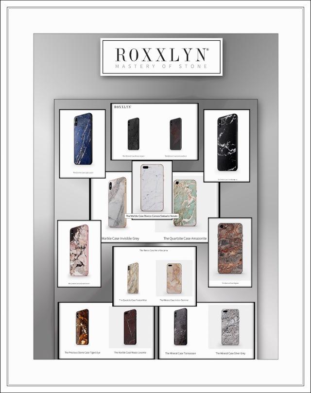 Roxxlyn's Full iPhone X Case Lineup