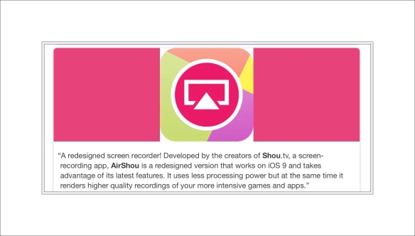 How to Install the Free Screen Recording App AirShou on ios 9,10