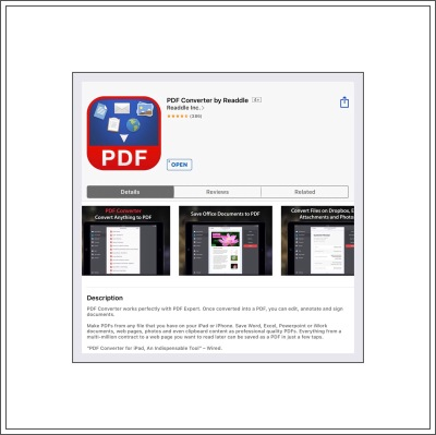 PDF Convertor App by Readdle