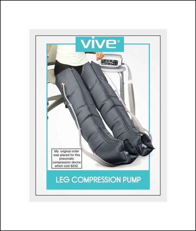Vive pneumatic compression unit