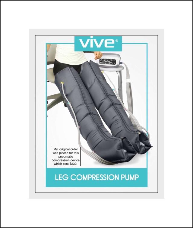 Vive pneumatic compression unit