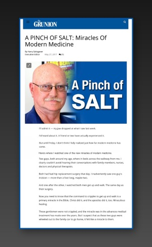 A Pinch of Salt Blog