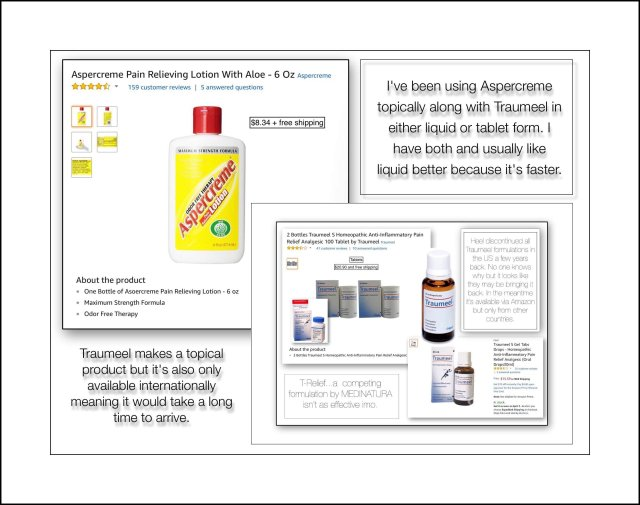 Aspercream & Traumeel