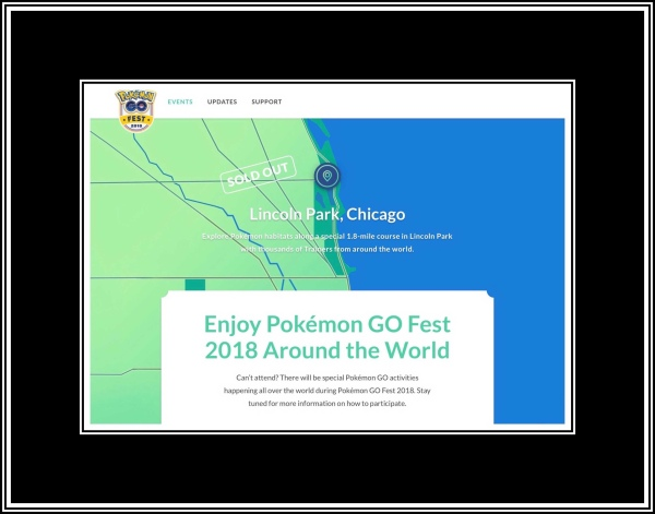 PokemonGo Fest 2018 Sold Out