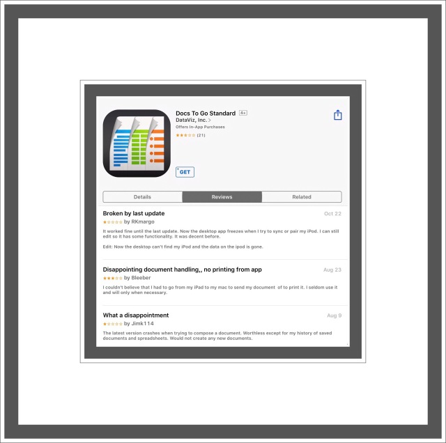 Review & History of Word Processing Apps for iPad & iPhone | vsatips