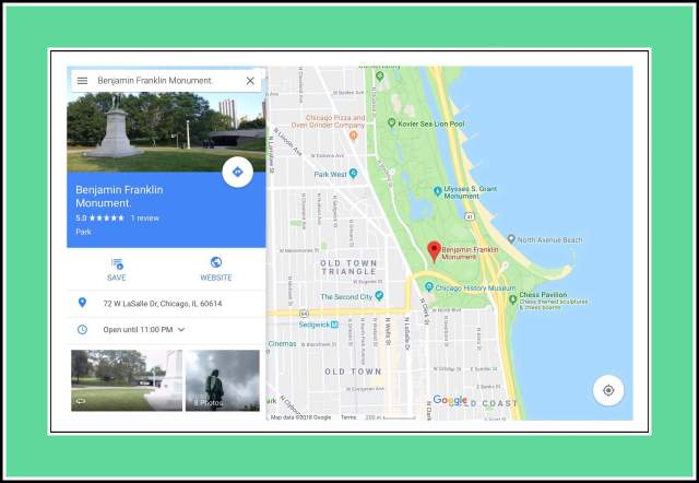 PoGo Fest 18 Entrance on Google Maps