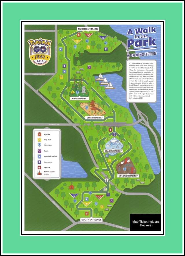 GoFest '18 Event Map