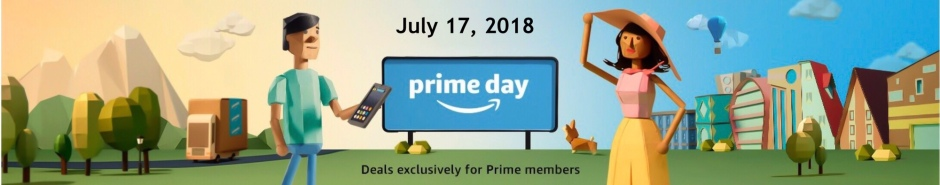 Header graphic Amazon Prime Day