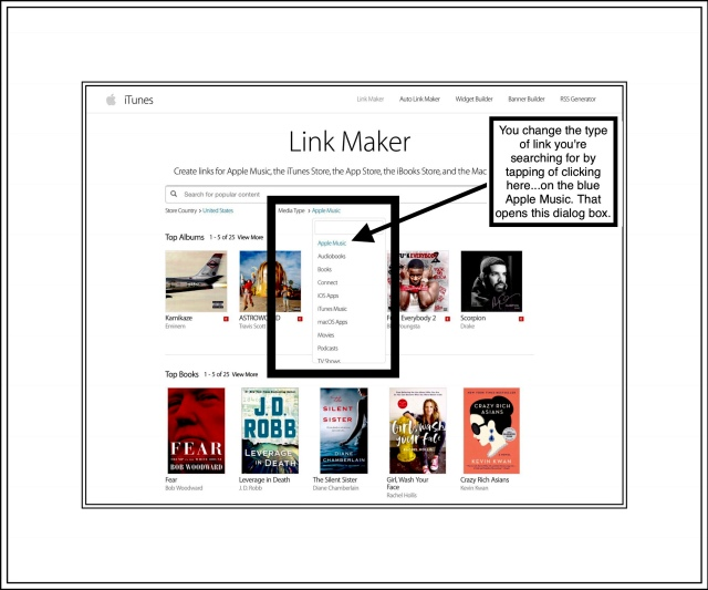 Apple's Linnk Maker Home Page
