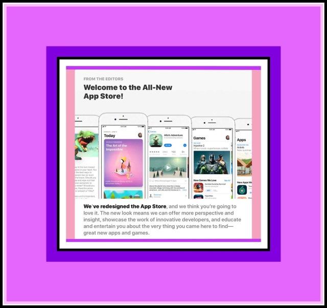 Apple's new is App Store
