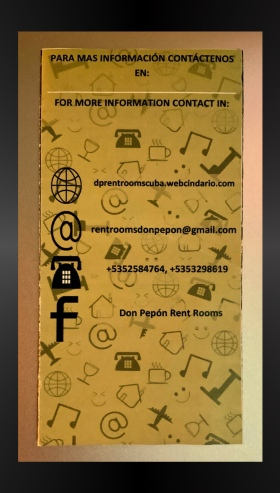 This is our host's marketing pamphlet. You can book all of his rooms using  a variety of methods. Either directly by emailing him, or through AirBnB or Bookings.com.